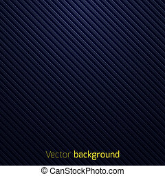 Abstract dark blue striped background. Vector illustration