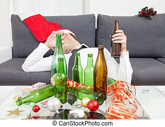Drinking too much during Christmas time and New Year