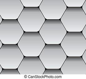 vector paper seamless hexagon pattern
