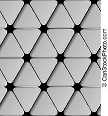 vector paper seamless triangle pattern