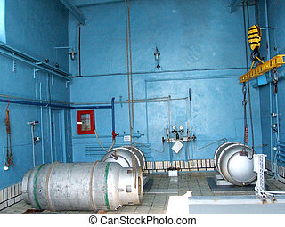 capacity with chlorine at a water treatment plant