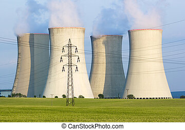 cooling towers - power plant cooling towers