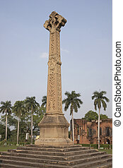 Siege of Lucknow - Memorial at the old British Residency in...