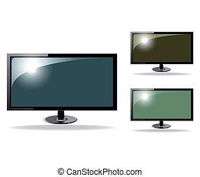 Cute tv vector hd vector illustration