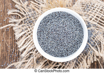 Portion of Poppyseed - Small portion of Poppyseed detailes...