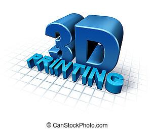 3D, impresión