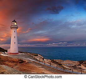 Castle Point Lighthouse, New Zealand - Castle Point...