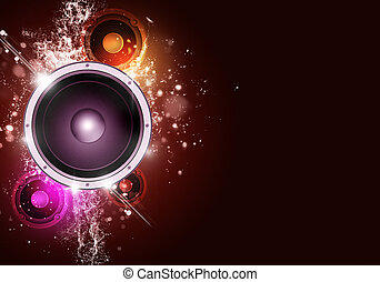 Music Party Red Background - party music background for...