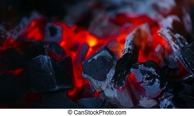 Embers - Burning embers