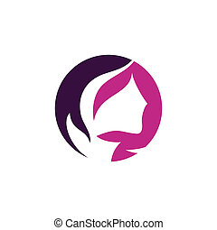 Beauty salon sign b - Branding identity corporate logo...