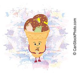 ice cream,