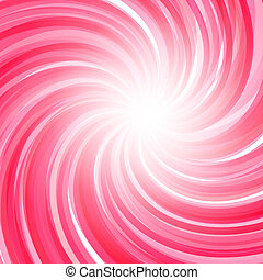 Twisted candy background. Strawberry yogurt, peppermint...