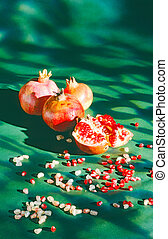 pomegranate - stillife