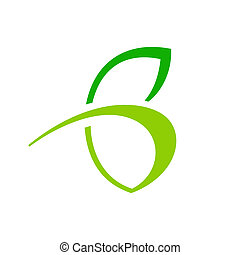 Abstract sign the letter B - Branding identity corporate...