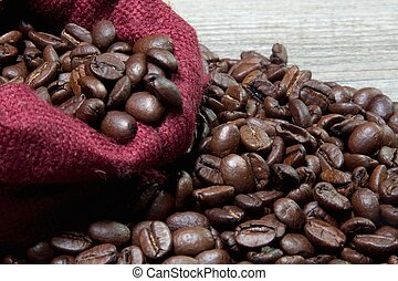 negro, café