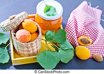 apricots and jam