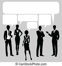 Comunication background - Comunication chat forum...