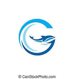 Sign the letter G - Branding identity corporate logo...