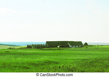 Isolated Poor House