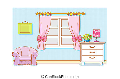 Room Cartoon - Room Cartoon illustration