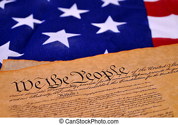 US Constitution - Preamble to the US Constitution with the...