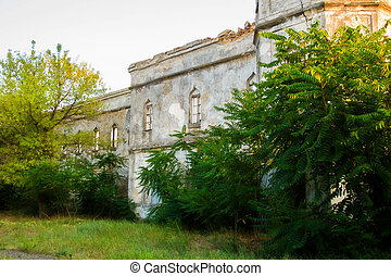 Alexandria barracks - old big Alexandria barracks in...