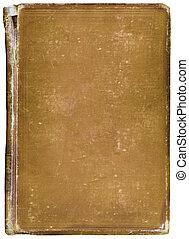 Worn antique book