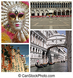 venetian collage