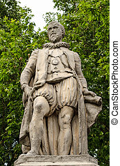Sir Hugh Myddleton Statue, Islingto - Monument statue to the...