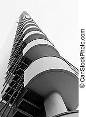 Tower of Helsinki olympic stadium -...