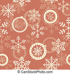 Winter Christmas New Year Seamless Pattern. Beautiful Texture wi