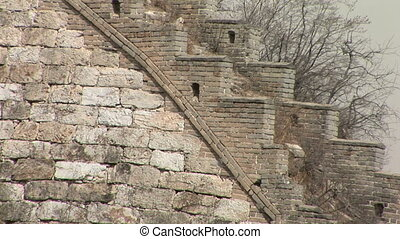 Original Section of the Great Wall - Profile of the Great...