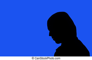 incognito silhouette - silhouette of an unknown, incognito...