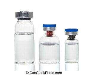 ampules, vials