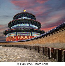 Temple of Heaven Altar of Heaven, Beijing, China
