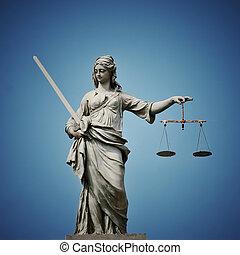 dama, Justicia