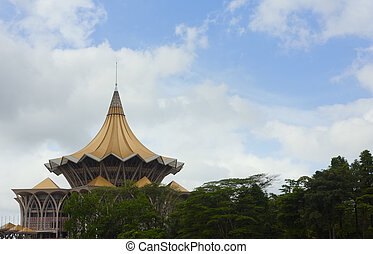 Architectural landmark in Sarawak - Architectural landmark...