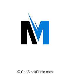 Sign of the letter M - Branding identity corporate logo...