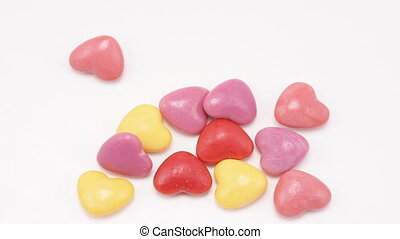 Heart Candy Multiply, Stop Motion Animation - Heart shaped...