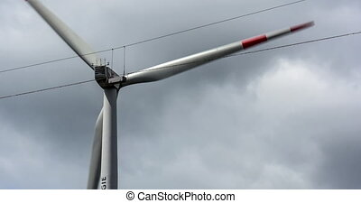Wind Turbine Close - 4K, Wind Turbine Close