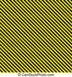 Tight Seamless Hazard Stripes - A tightly woven yellow and...