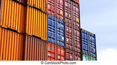 maritime container - maritime freight; ocean freight; sea...