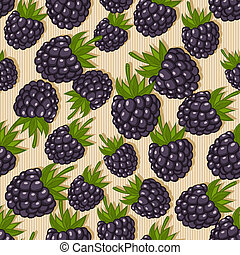 blackberry seamless pattern - berry seamless pattern -...