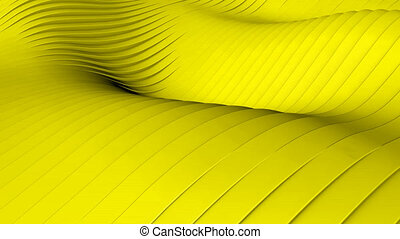 Yellow background - Beautiful yellow background with wawes