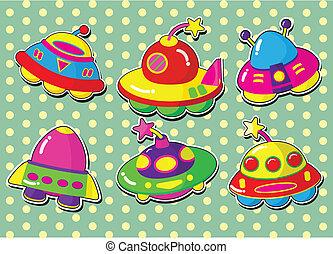 ufo stickers