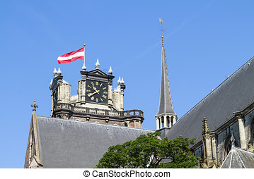 Impossing Dordrecht cathedral - Imposing and historic...