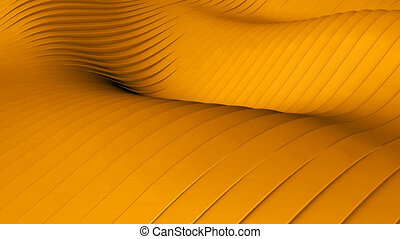 Orange background - Beautiful orange background with wawes