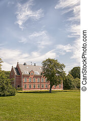 Palsjo Castle in Skane - HELSINGBORG, SWEDEN - JUNE 10: View...