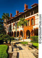 Ponce de Leon Hall at Flagler College, St. Augustine,...