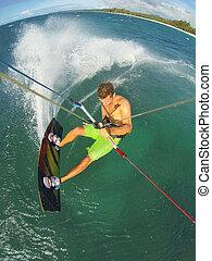 Kiteboarding - Kiteboarding, Fun in the Ocean, Extreme...